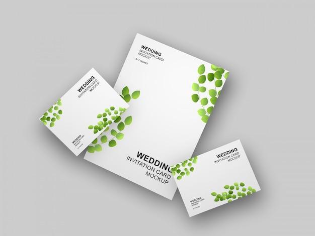 Wedding Card Mockup Vectors Photos And Psd Files Free