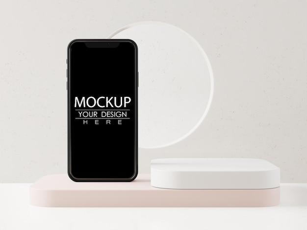 Пустой экран смартфона макет Бесплатные Psd