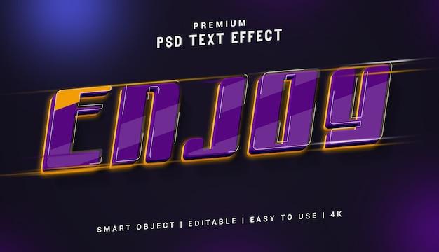 Наслаждайтесь премиум генератором текстовых эффектов Premium Psd