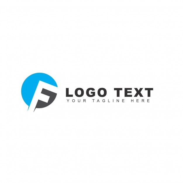 f letter logo psd file free download
