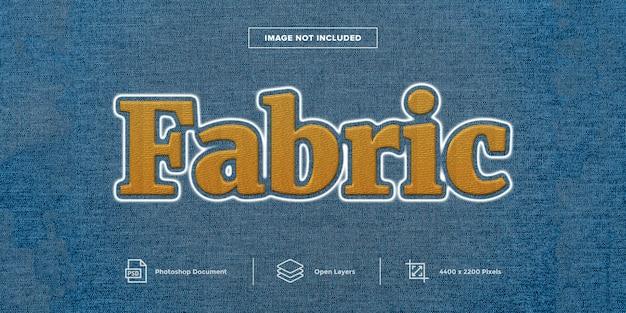 Стиль вышивки на ткани Premium Psd