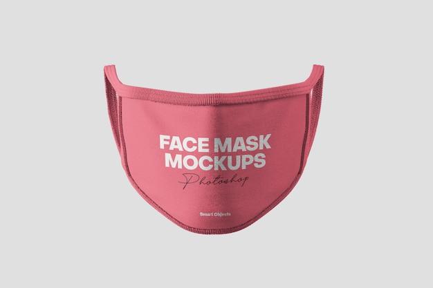 Face mask mockup Premium Psd