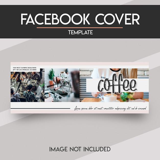 ソーシャルメディアのfacebookカバー Premium Psd