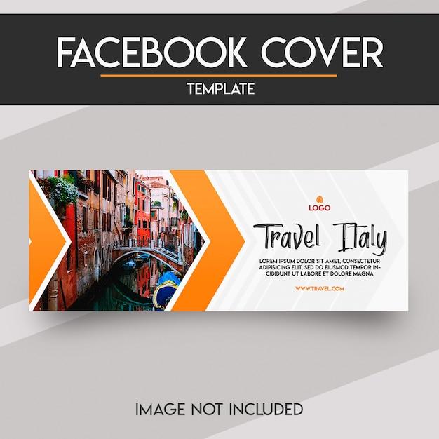 Социальная сеть facebook обложка Premium Psd