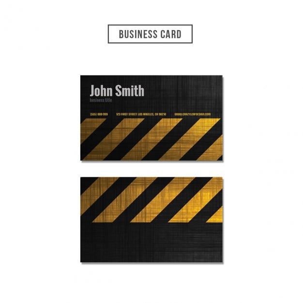 Factory business card design Free Psd