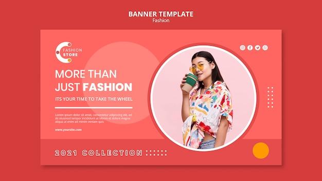 Modello di banner di moda Psd Gratuite