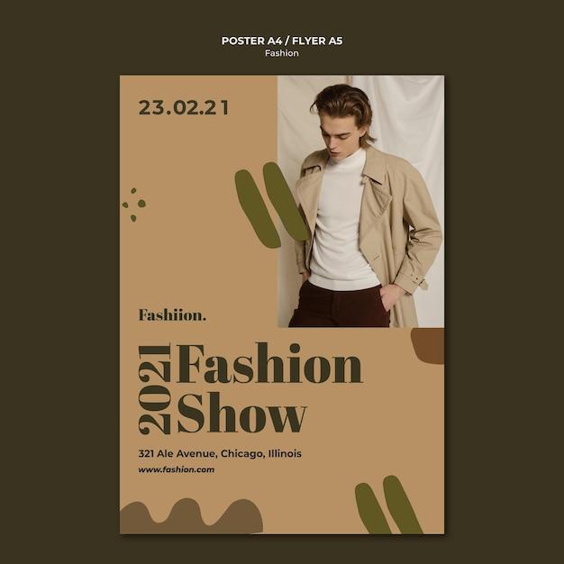 ファッションコンセプトチラシテンプレート 無料 Psd