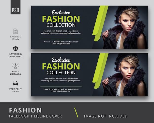 Fashion facebook covers Premium Psd