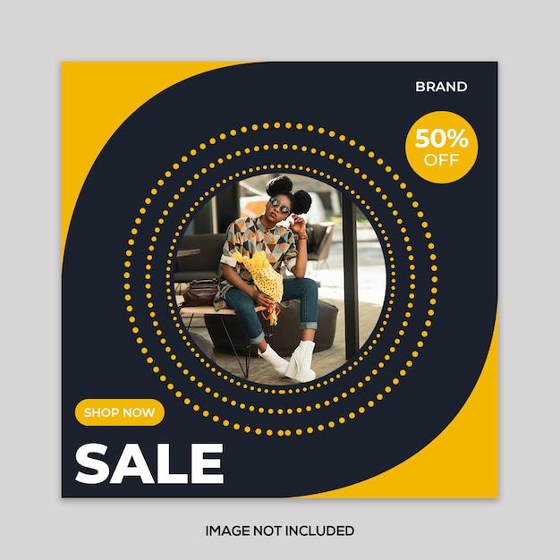Fashion sale banner Premium Psd