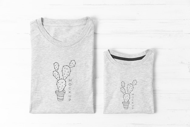 Father's day t-shirt mock-up assortment Free Psd