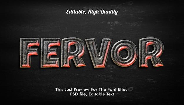 Ferfor 3dテキストスタイル Premium Psd