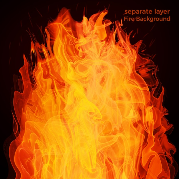 화재, 배경 프리미엄 PSD 파일