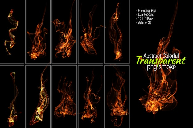 Fire photoshop psd Premium Psd
