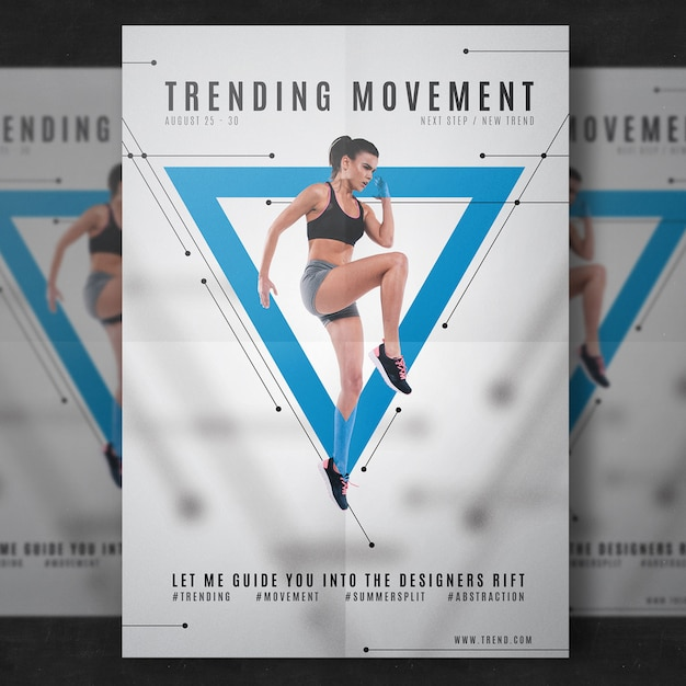 Fitness Flyer Template Free Psd  Free Fitness Flyer Templates