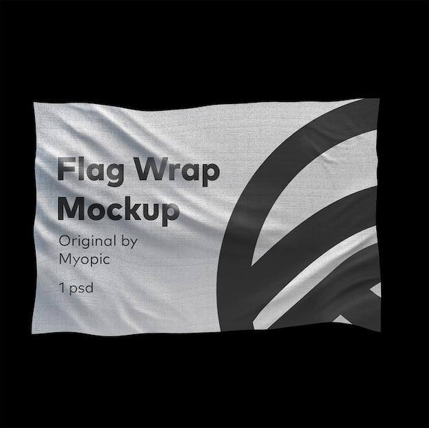 Флаг макет Premium Psd