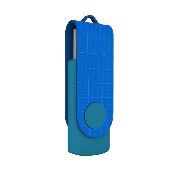 Макет флэш-памяти Premium Psd