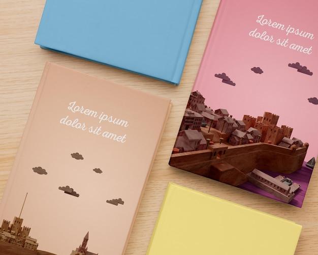평신도 미니멀리즘 책 표지 모형 구성 무료 PSD 파일
