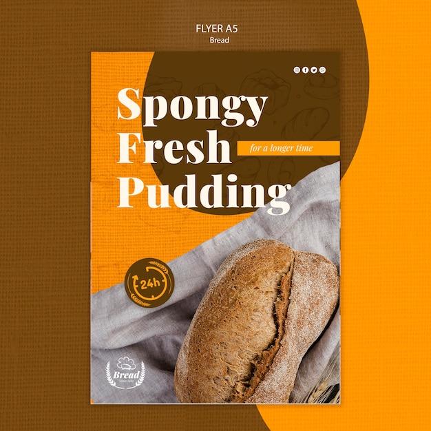 パンとチラシテンプレート 無料 Psd