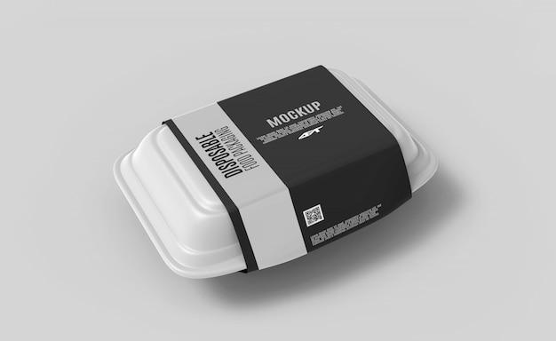 식품 상자 포장 모형 프리미엄 PSD 파일