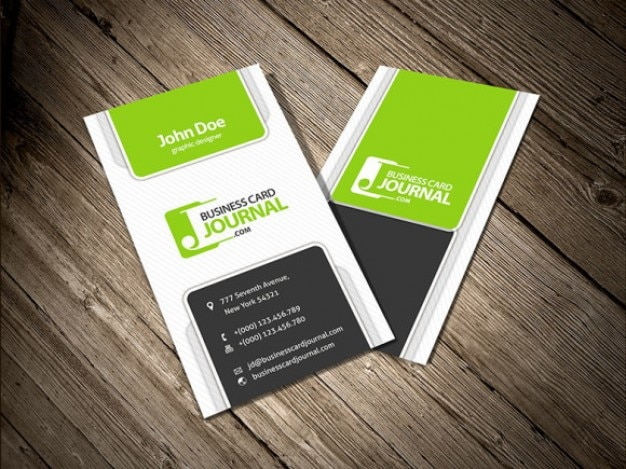 Four vertical business card template psd file free download four vertical business card template free psd flashek Gallery