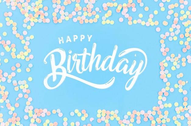 Рамка из конфет на день рождения Бесплатные Psd