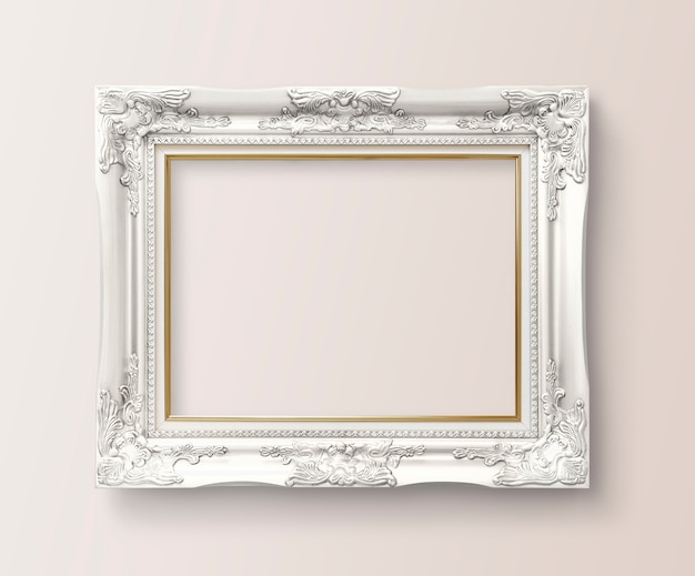 Frame on a wall Free Psd