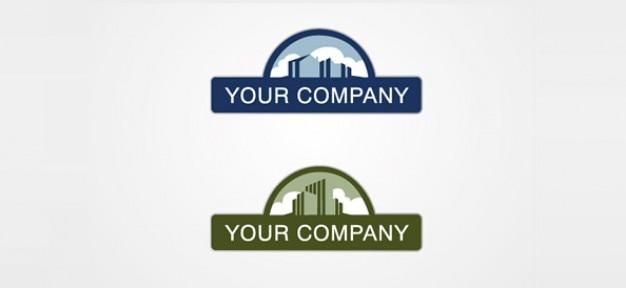 Free business logo design Free Psd