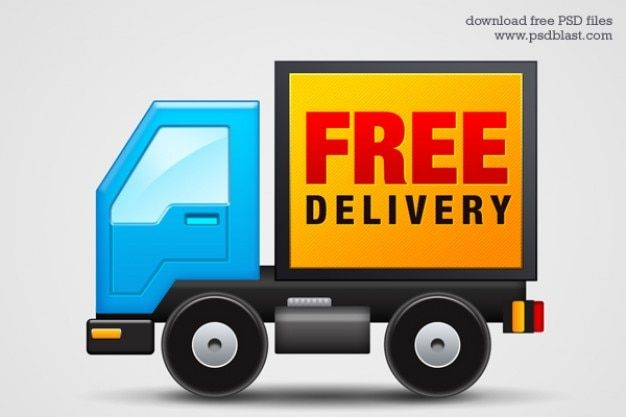 Free delivery icon  psd Free Psd