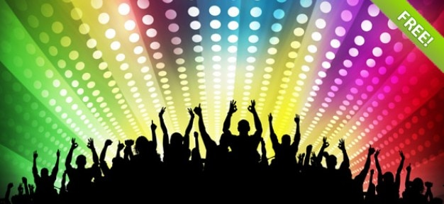 free disco party backgrounds free psd