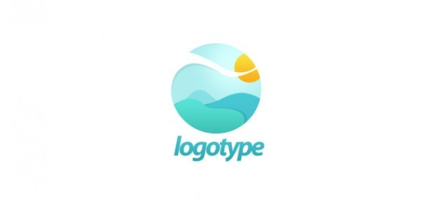 Free landscape logo design psd file free download for Logo suggestions free