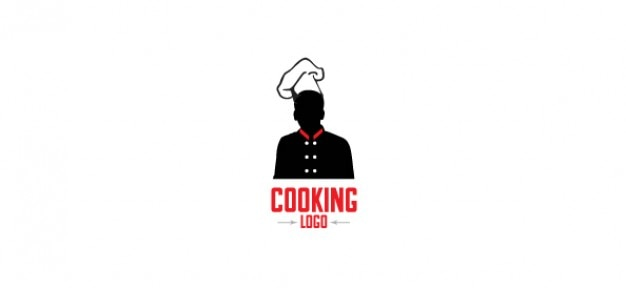 Free logo design template for cooking PSD file | Free Download