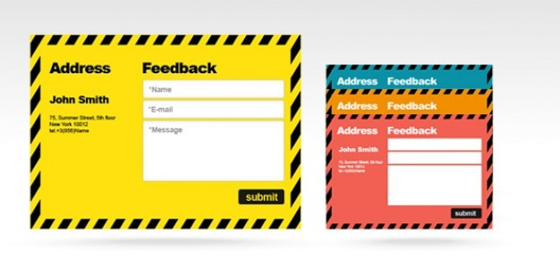Free Psd Feedback Form Psd File  Free Download
