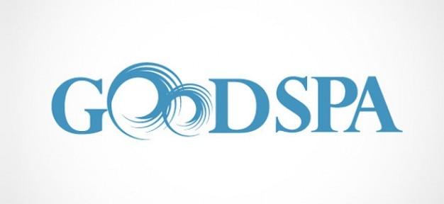 Бесплатный спа-центр шаблон логотипа Бесплатные Psd