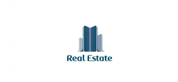 Free vector logo for real estate Free Psd