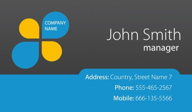 Fresh Business Cards Template PSD PSD File Free Download - Free downloadable business card templates