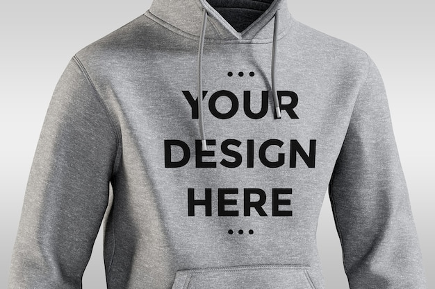 Front view hoodie mockup isolated Premium Psd