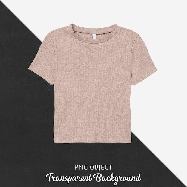 기본 티셔츠 모형의 전면보기 프리미엄 PSD 파일