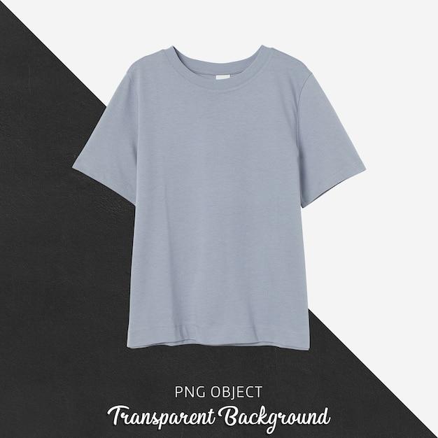 회색 남자 친구 Tshirt 모형의 전면보기 프리미엄 PSD 파일
