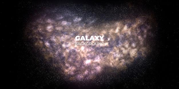 Sfondo astratto galassia Psd Gratuite