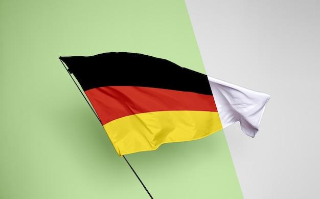 독일 국기 개념 모형 무료 PSD 파일