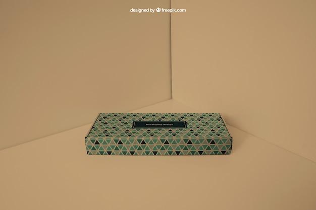 Подарочная коробка в углу Бесплатные Psd