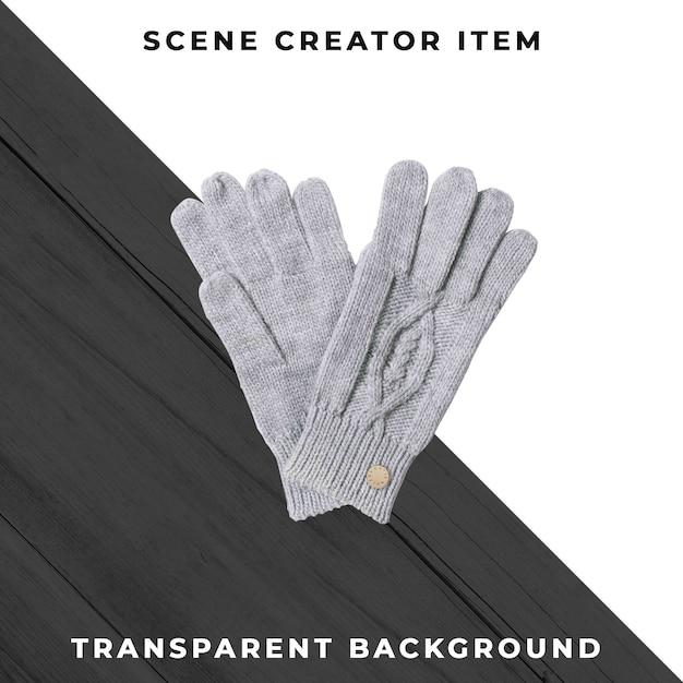 クリッピングパスで分離された手袋。 無料 Psd