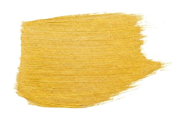 Gold brush stroke background Free Psd