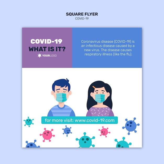 コロナウイルススクエアフライヤーについて知っておくと良いこと 無料 Psd