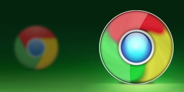 Новый google chrome иконка revisited Бесплатные Psd