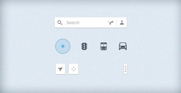 google map icons ui psd file free download