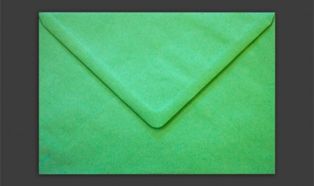 green isolated envelope psd psd file