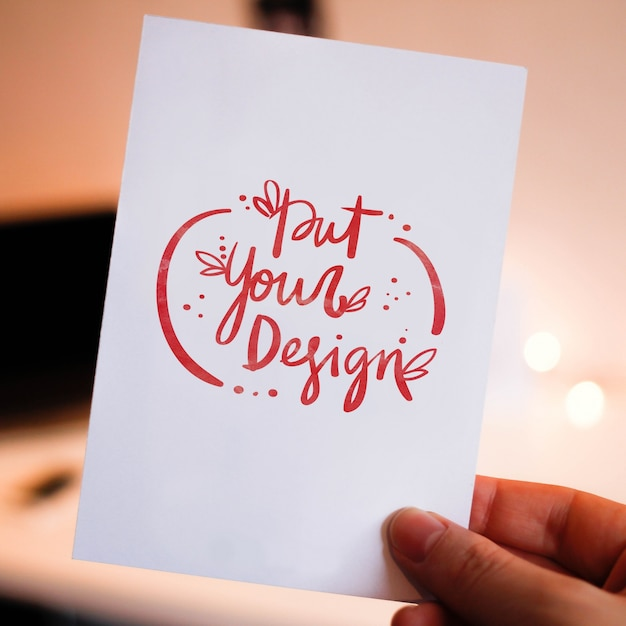 Free Psd Greeting Cards Template Design