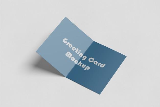 Greeting/invitation card mockup Premium Psd