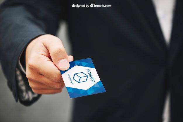 Hand giving business card mockup psd file free download hand giving business card mockup free psd colourmoves